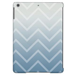 Blanco Chevron del cielo Funda Para iPad Air