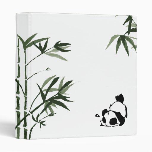 Blanco chino de la panda