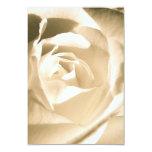 Blanco color de rosa anuncio personalizado