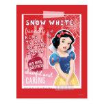 Blanco como la nieve - su dulzor real postal