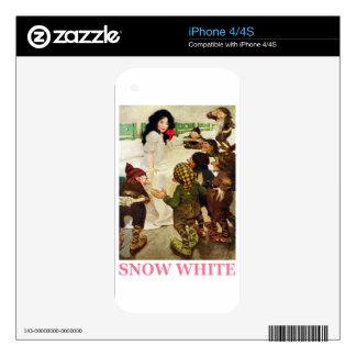 Blanco como la nieve y los siete enanos skins para eliPhone 4