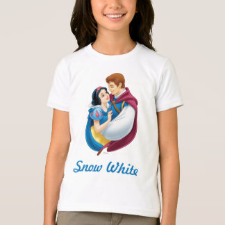 Blanco como la nieve y príncipe el encantar playera