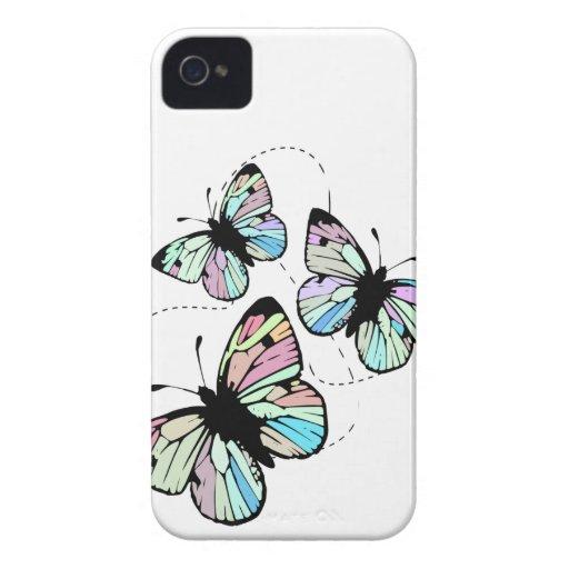 Blanco con la casamata del iPhone 4/4S de las Carcasa Para iPhone 4 De Case-Mate