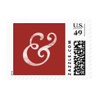 Blanco cursivo de la prensa de copiar del viejo sellos