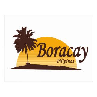 Blanco de Boracay Tarjeta Postal