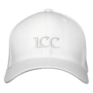 Blanco de Keifi ICC Gorra Bordada