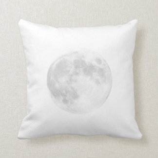 Blanco de la almohada de la luna