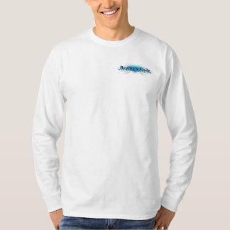 Blanco de la camisa del LS del exilio de la