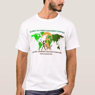 Blanco de la camiseta de GARC