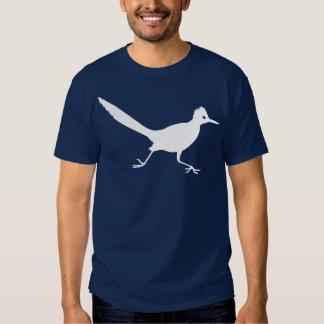 Blanco de la camiseta del Roadrunner Playeras