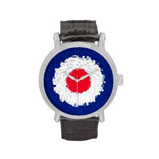 Blanco de la MOD con el efecto aplicado Reloj