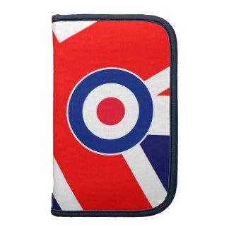 Blanco de la MOD en bandera BRITÁNICA Planificadores