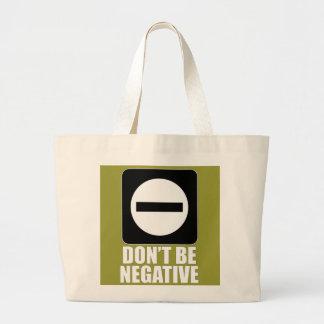 Blanco de la negativa 2 bolsas