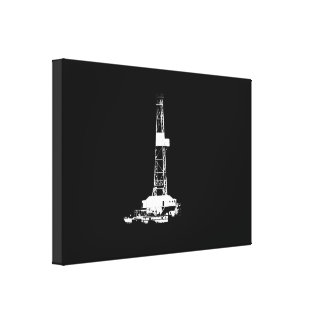Blanco de la silueta de la plataforma de impresión en lona estirada