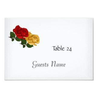 """Blanco de la tarjeta de la colocación de la tabla invitación 3.5"""" x 5"""""""