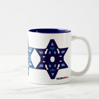 Blanco de la taza de SHALOM
