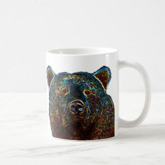 Blanco de la taza del oso