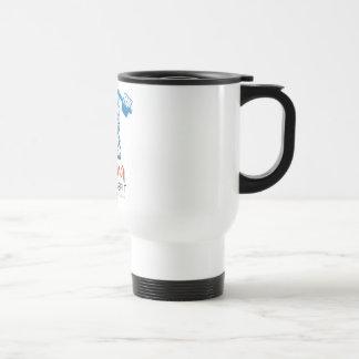 Blanco de la taza del viaje de las karmas