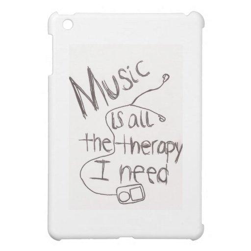 blanco de la terapia de música