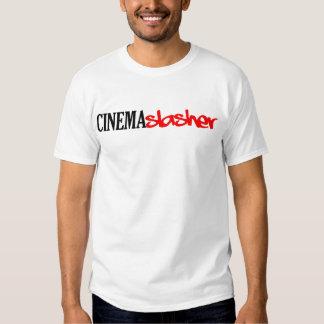 Blanco de Slasher del cine Playera