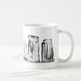 Blanco de Stonehenge los regalos de Zazzle del MUS Taza