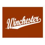 Blanco de Winchester Tarjetas Postales