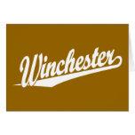 Blanco de Winchester Tarjeton
