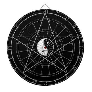 Blanco de Yin Yang del Pentagram