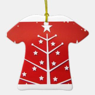 Blanco del árbol de Navidad Adornos De Navidad