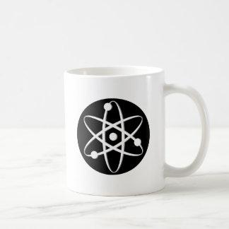 blanco del átomo taza