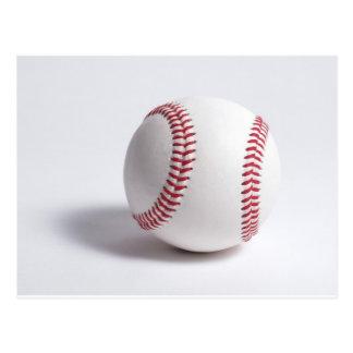 Blanco del béisbol tarjetas postales