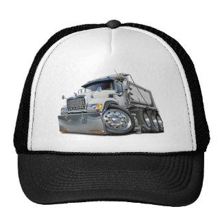Blanco del camión volquete de Mack Gorras