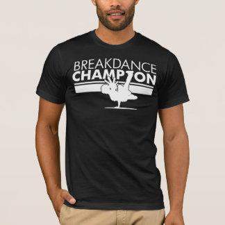 Blanco del campeón de Breakdance Playera