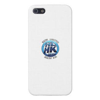 Blanco del caso del iPhone de HLHK iPhone 5 Carcasa
