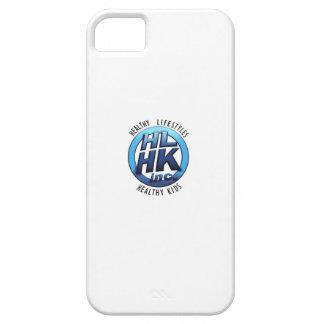 Blanco del caso del iPHONE de HLHK iPhone 5 Funda