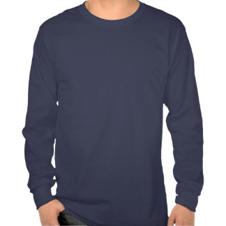 Blanco del emblema de la montaña de Chamonix Camisetas