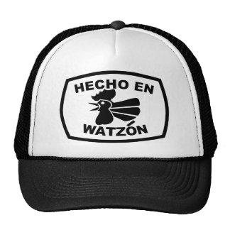 © (blanco) del En Watzón Gallo de Hecho Gorras