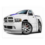 Blanco del espolón de Dodge SRT10 Postales