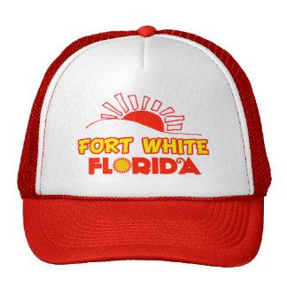 Blanco del fuerte, la Florida Gorra