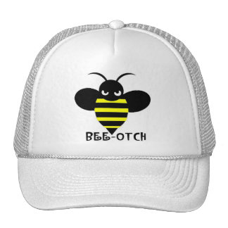 Blanco del gorra de la Abeja-otch