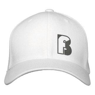 Blanco del gorra del logotipo de la pesca de BASSt Gorra De Beisbol