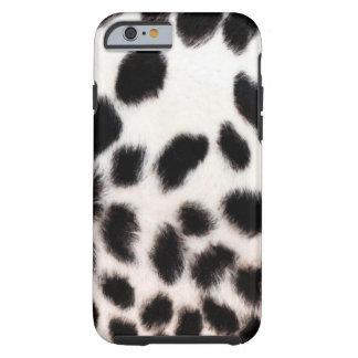 Blanco del guepardo funda de iPhone 6 tough