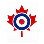 Blanco del hockey de la MOD que se encrespa Canadá Postal