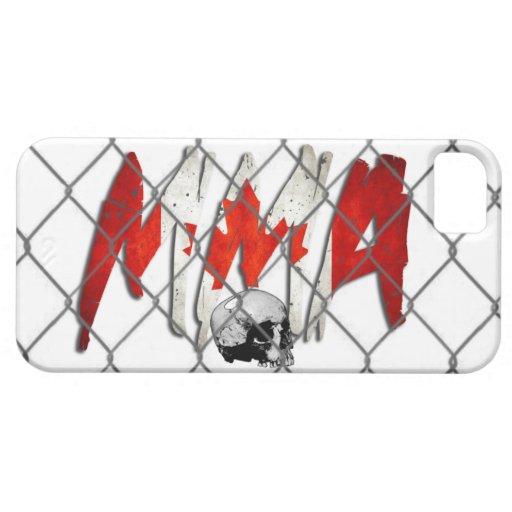 blanco del Muttahida Majlis-E-Amal de Canadá del iPhone 5 Fundas