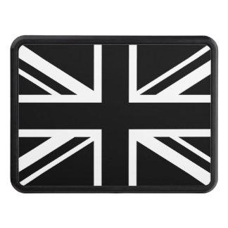 Blanco del negro de la bandera de Inglaterra Tapa De Tráiler
