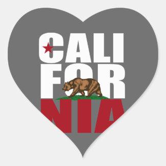 BLANCO DEL OSO DE CALIFORNIA - .PNG PEGATINA EN FORMA DE CORAZÓN