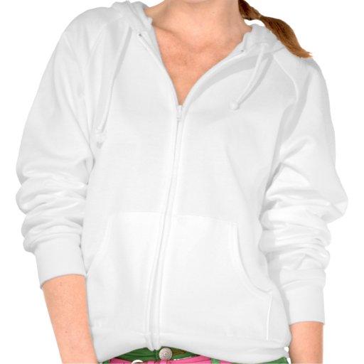 Blanco del suéter con capucha de la cremallera del sudadera con capucha