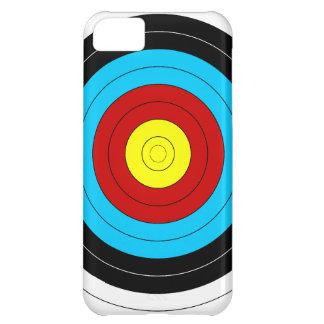Blanco del tiro al arco funda para iPhone 5C