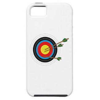 BLANCO DEL TIRO AL ARCO FUNDA PARA iPhone SE/5/5s