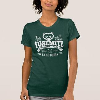Blanco del vintage de Yosemite Camisetas
